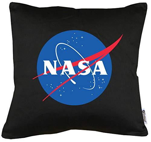 (Touchlines Merchandise TLM NASA Logo Kissen mit Füllung 40x40cm)
