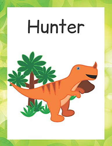 Hunter 54 (Hunter: Customized Lined Notebook for Boys (Happy Dinosaur, Band 54))