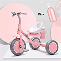 Framy Child Tricycle, Kids Bike Baby Walker Three Wheels 2-6 Years Old Gift Boys Girls Trikes for Baby Toys Balance Bike Car