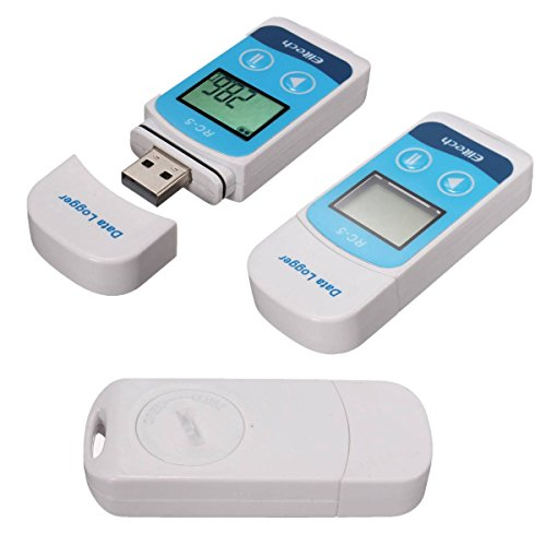 Mohoo Data Logger RC-5 mini registratore del sensore impermeabile USB Temperatura 32000 Punti