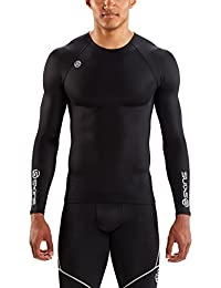 Skins DNAmic Team Compression L/S Top - Black