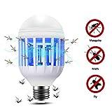 Lixada Ampoule Anti-Moustique 2 en 1 Lam