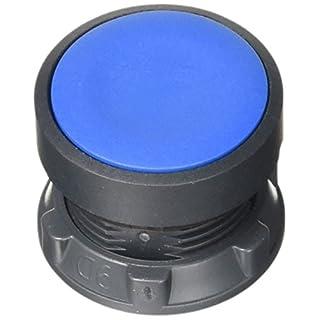 Schneider ZB5AA6 Frontelement rund für Drucktaster, ohne Rastung, flach, neutral, Blau, Durchmesser 22 cm