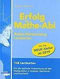 Erfolg im Mathe-Abi Lernkarten Allgemeinbildendes Gymnasium Baden-Württemberg ab 2019