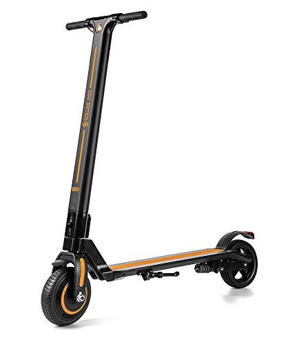 Roller Pro RP-URBAN4NJ Elektro-Scooter, Brushless Motor 250 W, MAX. Geschwindigkeit 24 km/h, faltbar, inkl. App, Lithium-Batterie, Orange, 4.0 A -