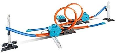 Mattel Hot Wheels DGD30 - Doppel-Booster Powerbahn, Spielbahn von Mattel