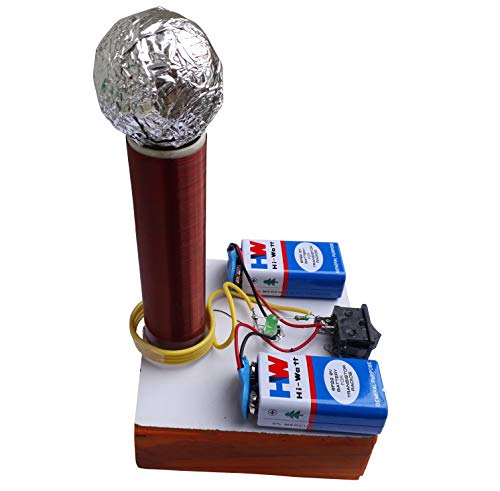 Tesla Coil Working Physics Science Model kit of Wireless Power Transmission