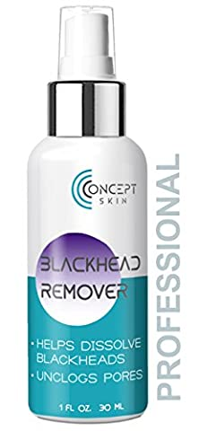 Blackhead Remover- Powerful Salicylic Acid Peel for Face – Blackhead Removal Dissolving Gel & Acne Spot Treatment for Teens, Men & Women – Made in USA by Concept Skin
