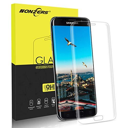 NONZERS Cristal Templado para Samsung Galaxy S7 edge, [1Unidades] Protector de...