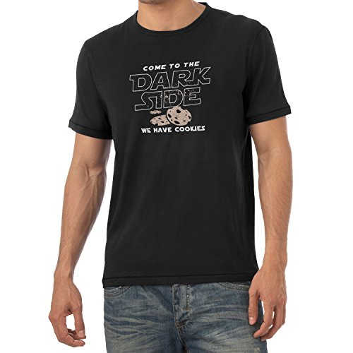 TEXLAB - We have Cookies - Herren T-Shirt, Größe XXL, (Darth Kostüm Empire Vader Strikes Back)