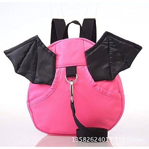 Junsi QR Kids Safety Harness Imbracatura Reins Toddler Back pack Anti lost Walking Wings bag
