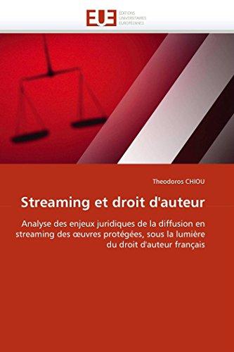 Streaming et droit d''auteur