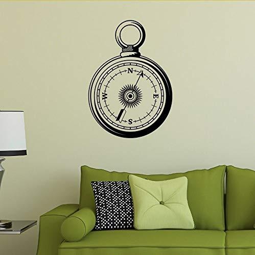 Ljtao Pocket Compass Humor Wein Wandaufkleber Modern Passt Kinderzimmer Wohnzimmer Schlafzimmer Mehr