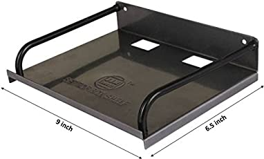 Ampereus Set Top Box/DVD Player Wall Mount Stand, Black .