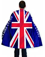 Amscan PPP GB Body Flag/Cape