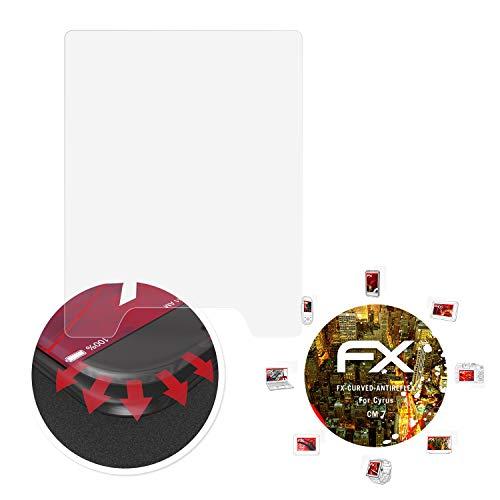 atFolix Schutzfolie passend für Cyrus cm 7 Folie, entspiegelnde & Flexible FX Bildschirmschutzfolie (3X)