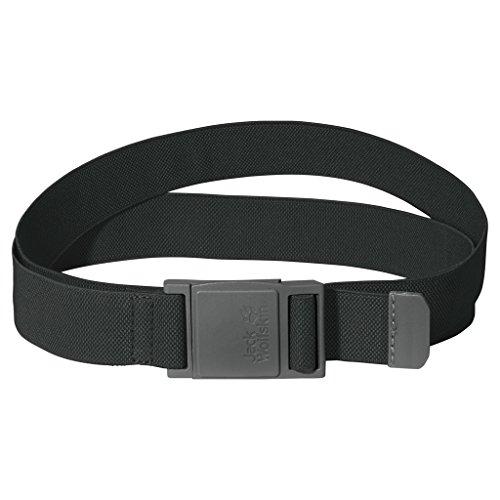 Jack Wolfskin Unisex Gürtel Stretch, dark steel, 125/115 x 3 cm, 8001761-6033