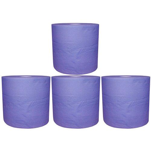Preisvergleich Produktbild 4 Putztuchrollen blau 2lagig 22 cm breit ca.110 m lang Werkstattpapier R125