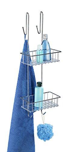 Wenko 2 Haken zum Aufhängen von Handtüchern, Waschhandschuhen etc.