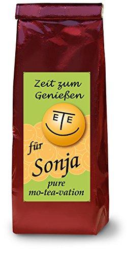 Sonja-Namenstee-Frchtetee
