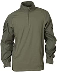 5.11Tactical Series Rapid Assault camisa para hombre, color verde, tamaño S