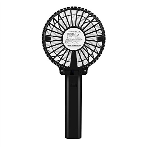 41iJnFJ5jvL. SS500  - Hot Mini Portable USB Rechargeable High Power 3-Speed Desktop Fan Air Conditioner Durable,Mini Carrying Air Cooler Rechargeable Battery Snowman Air Conditioning Fan USB Pocket Fan for Home Office