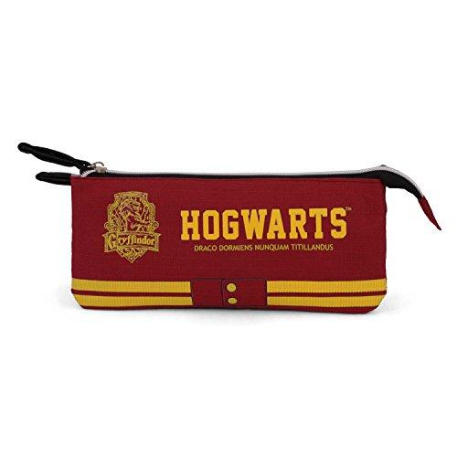 Karactermania Harry Potter Gryffindor-Triple HS Pencil Case Astuccio, 24 cm, Rosso (Red)