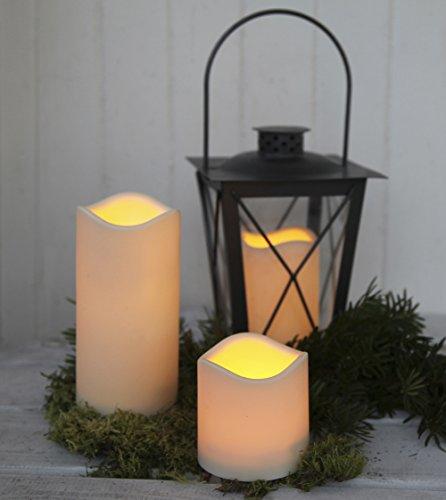 Juego de 12velas LED, impermeables, cambio de color, sin llama, velas LED, seguridad, para decoración multicolor y resistentes al agua, plástico, 3 unidades