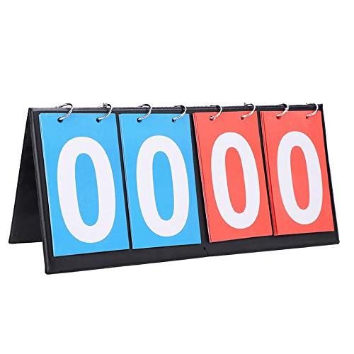 4 Digit Anzeiger Sportwettbewerb Anzeiger Tischtennis Basketball Badminton Fußball Volleyball Anzeigetafel (Tennis Board Table Score)
