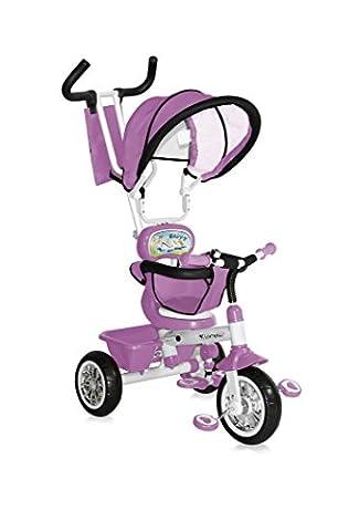 Lorelli B313A Tricycle Evolutif pour Bébé/Enfant 1-4 Ans Rose