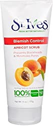 St. Ives Naturally Clear Apricot Scrub, Blemish Control 6 oz (Pack of 2)