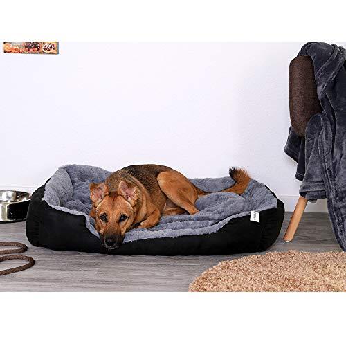 dibea DB00523 – Hundebett – Hundekissen – Hundesofa mit Wendekissen (Größe und Farbe wählbar) - 6