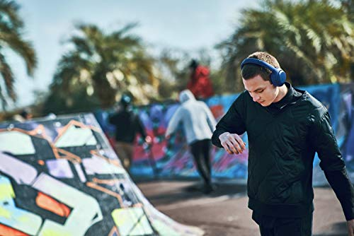 Sony WH-XB900N Bluetooth Noise Cancelling Kopfhörer (Extra Bass,30h Akku, Amazon Alexa & Google Assistant, Gestensteuerung) Blau - 8
