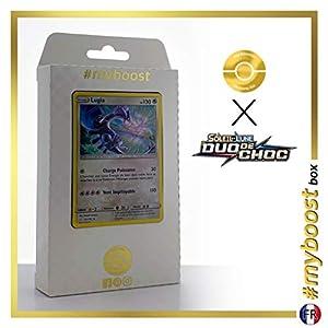 Lugia 131/181 Holo - #myboost X Soleil & Lune 9 Duo de Choc - Box de 10 Cartas Pokémon Francés