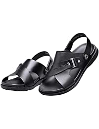 Sky Necessary For Summer Men Summer Flip Flops Shoes Sandals Slipper Informantes Coche Flip-Flops (40, Rojo)