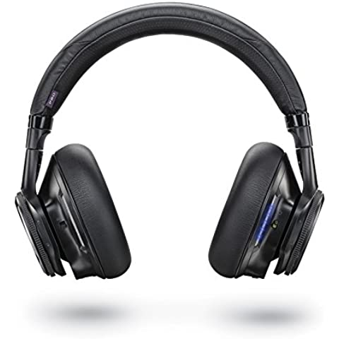 Plantronics BackBeat Pro - Auriculares de diadema cerrados, color negro