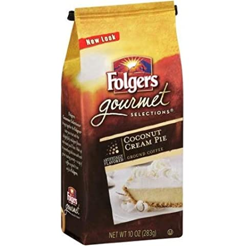 Folgers Gourmet Selections Coconut Cream Pie Roast