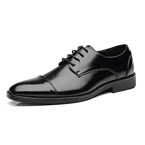 Derby Schuhe Männer Oxford Schuhe Erwachsene Lace-up Kleid Schuhe Jungen Leder Klassischen Stil Hochzeit Büro Männlich Social Schuhe