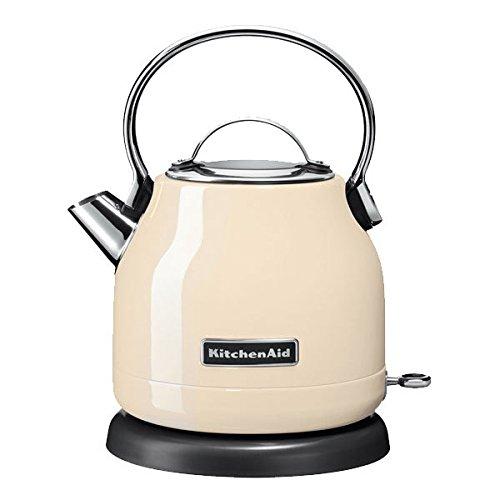 KitchenAid 5KEK1222EAC 5KEK1222 Wasserkocher, Edelstahl, 2 liters, Almondcream