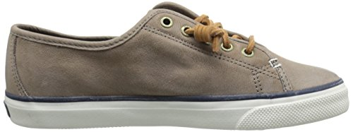 Sperry Seacoast Weathered & Worn, Baskets Pour Femme Greige