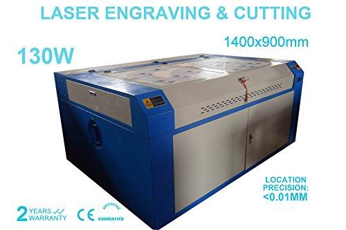 130w Lasergravur Engraver CO2 Lasergraviermaschine Gravurmaschine 1400x900mm (Laser-schneiden Von Leder)
