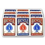Bicycle Rider Back Poker Playing Cards - 1 Dozen 12 decks