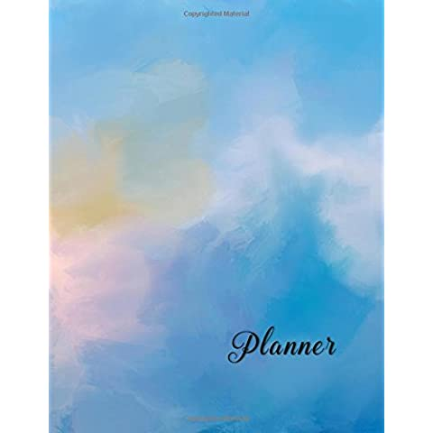 13 Month Planner: Undated - 2 Page Monthly Spread-Expense Tracking-Goal Planning-Weekly Notes-Huge Value