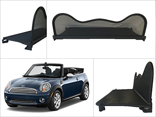 Filet Anti-Remous Coupe de vent BMW Mini 2004 - 2015 Mini One, Cooper, Cooper S, Cabrio R52 & R57 Déflecteur de Vent