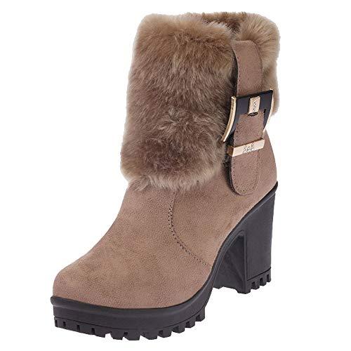Stivali donna invernali,liuchehd sports stivaletti da neve stivali donna donna scarponi da neve scarpe donna invernali pelliccia stivaletti da combattimento
