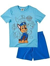 eced10c5c2dfc La Pat  Patrouille Pyjama Court Enfant garçon Bleu de 3 à 8ans