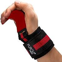 Purovi® Gants Crossfit | Sangle D'haltérophilie avec Crochets pour Une Musculation Ciblée ? Paire