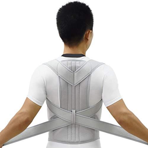 Premium Back Belt Corrector de postura Vendaje de la columna Ortopédica Brace Escoliosis Hombro Cinturón de soporte Hombre Mujer