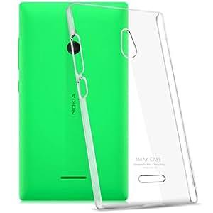 Heartly Imak Crystal Hard Bumper For Nokia XL (Transparent)