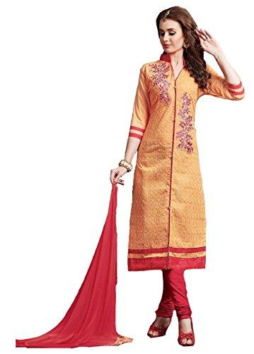 Shree Ganesh Retail Womens Chikankari Embroidery Churidar Material | Salwar Suit |...